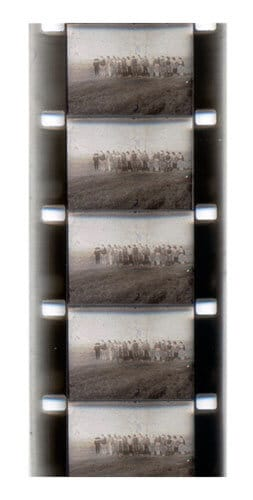 Киноплёнка 16-мм без звуковой дорожки