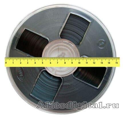 Бобина для намотки магнитной ленты №15