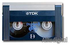 Видеокассета Digital8