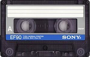 Компакт-кассета SONY EF-90