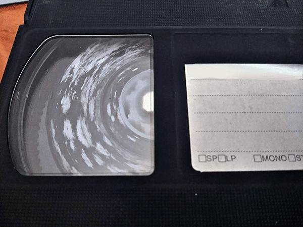 Дефекты видеокассет VHS - плохие условия хранения