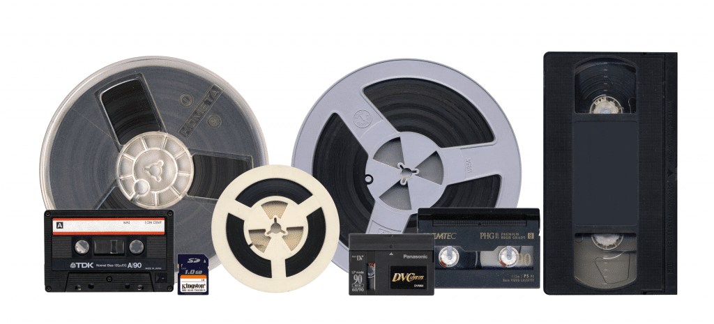 Аудио и видео носители