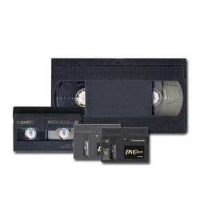 Оцифровка видеокассет всех типов.
